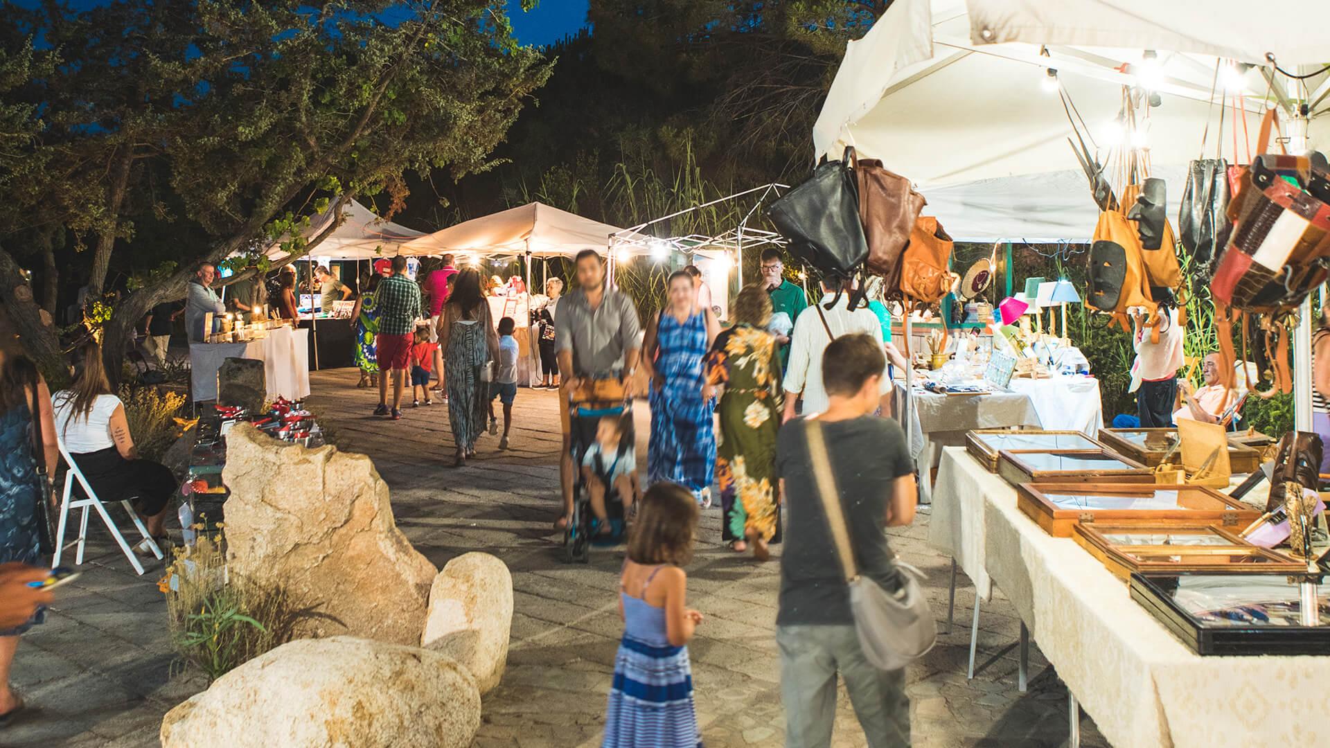 Le boutique del Resort & SPA Le Dune, sul mare di Badesi nel Nord Sardegna