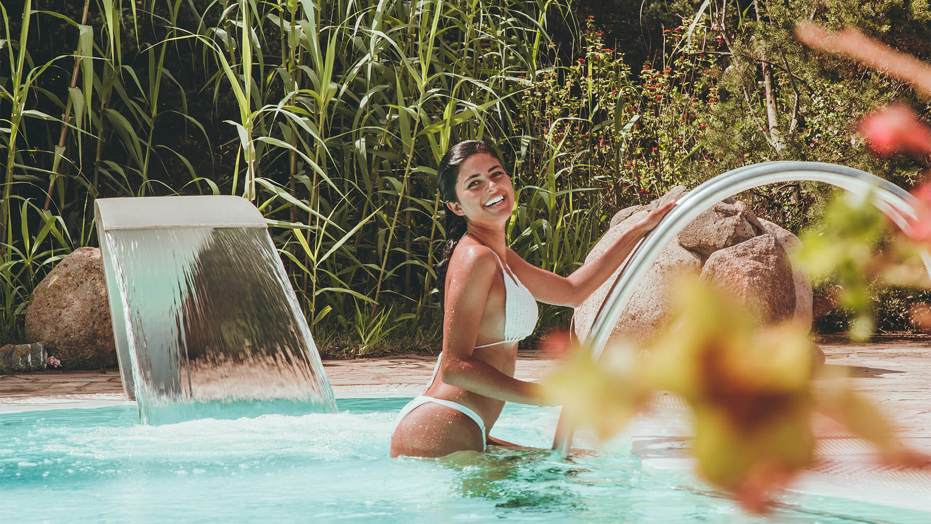 Resort Le Dune, le piscine del Centro Le Sabine SPA, Nord Sardegna